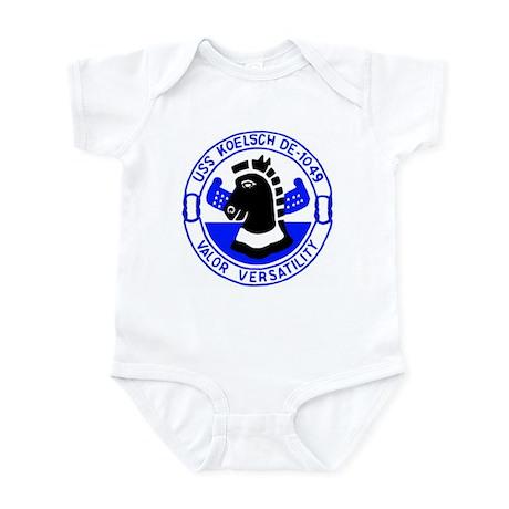 USS Koelsch (DE 1049) Infant Bodysuit
