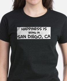 Unique Places san diego Tee