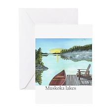 Funny Muskoka Greeting Card