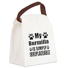 My Burmilla cat is simply irrepla Canvas Lunch Bag