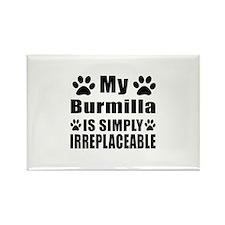 My Burmilla cat is simply irrepla Rectangle Magnet