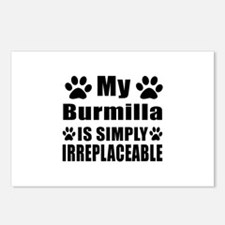 My Burmilla cat is simply Postcards (Package of 8)