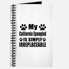 My California Spangled cat is simply irrep Journal