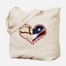 My heart is in Iraq and I wan Tote Bag