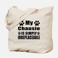 My Chausie cat is simply irreplaceable Tote Bag