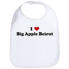 I Love Big Apple Beirut Bib