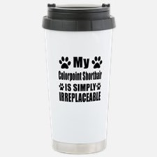 My Chausie cat is simpl Travel Mug