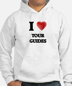 I love Tour Guides (Heart made f Hoodie