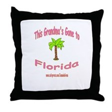 NANA OFF TO FLORIDA Throw Pillow