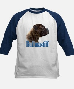 Bullmastiff(brindle)Name Kids Baseball Jersey