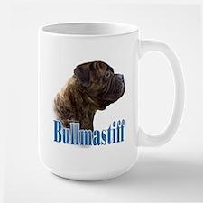 Bullmastiff(brindle)Name Large Mug