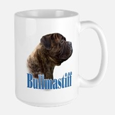 Bullmastiff(brindle)Name Mug