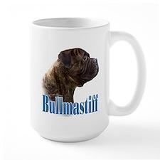 Bullmastiff(brindle)Name Mug