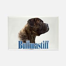 Bullmastiff(brindle)Name Rectangle Magnet (100 pac