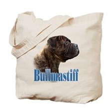 Bullmastiff(brindle)Name Tote Bag