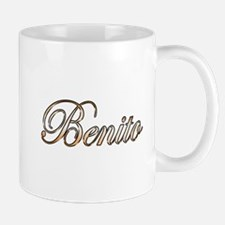 Gold Benito Mugs