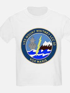 USS Mount Whitney (LCC 20) T-Shirt