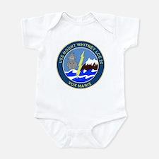 USS Mount Whitney (LCC 20) Infant Bodysuit