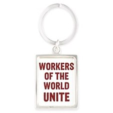 Cute Communism Portrait Keychain