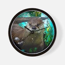 Unique Otters Wall Clock