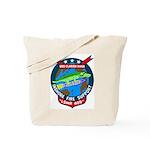 USS Clarion River (LSMR 409) Tote Bag