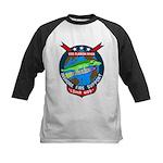 USS Clarion River (LSMR 409) Kids Baseball Jersey