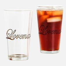Funny Lorena Drinking Glass