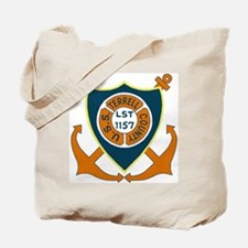 USS Terrell County (LST 1157) Tote Bag