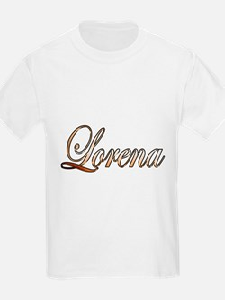 Gold Lorena T-Shirt