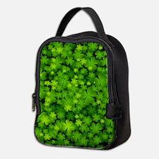 Beautiful Irish Shamrocks Neoprene Lunch Bag