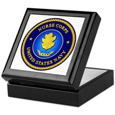 Navy Nurse Corps Keepsake Box