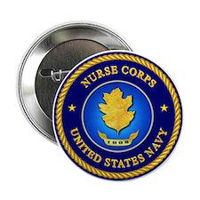 Navy Nurse Corps Button