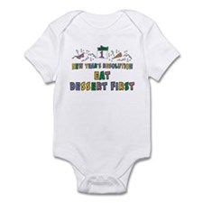 New Year's Resolution Infant Bodysuit
