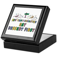 New Year's Resolution Keepsake Box