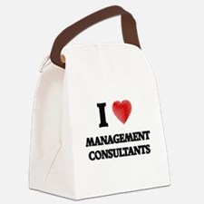 I love Management Consultants (He Canvas Lunch Bag