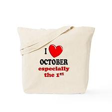 October 1st Tote Bag