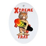 Fraz Extreme Oval Ornament