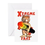 Fraz Extreme Greeting Cards (Pk of 10)