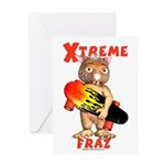 Fraz Extreme Greeting Card