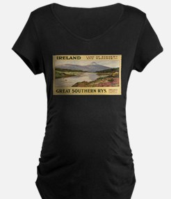 Vintage poster - Ireland Maternity T-Shirt
