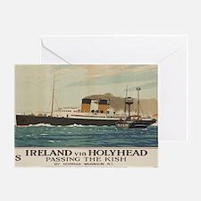 Cute Ocean liner Greeting Card