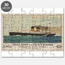 Vintage poster - Ireland Puzzle