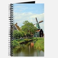 Dutch windmill village, Holland Journal