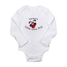 Cute Bugs Long Sleeve Infant Bodysuit