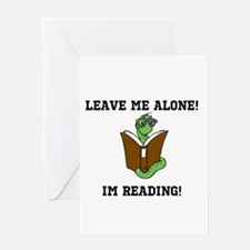 LEAVE ME ALONE! Greeting Cards