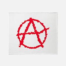Cute Atheist logo Throw Blanket