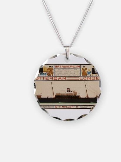 Vintage poster - Rotterdam - Necklace