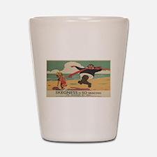 Vintage poster - Skegness Shot Glass