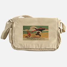 Vintage poster - Skegness Messenger Bag