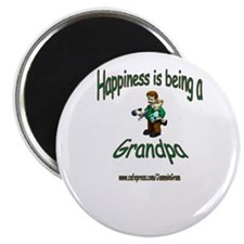 HAPPY GRANDPA Magnet